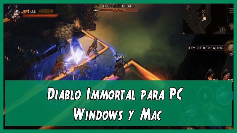 Diablo Immortal para PC