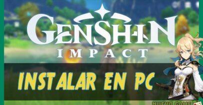 Genshin Impact para PC: Instalar Apk en Windows y Mac