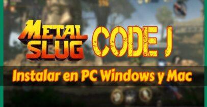 Metal Slug Code J para PC Windows: Cómo instalar juego