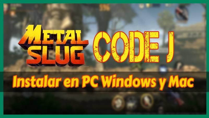 Metal Slug Code J PC