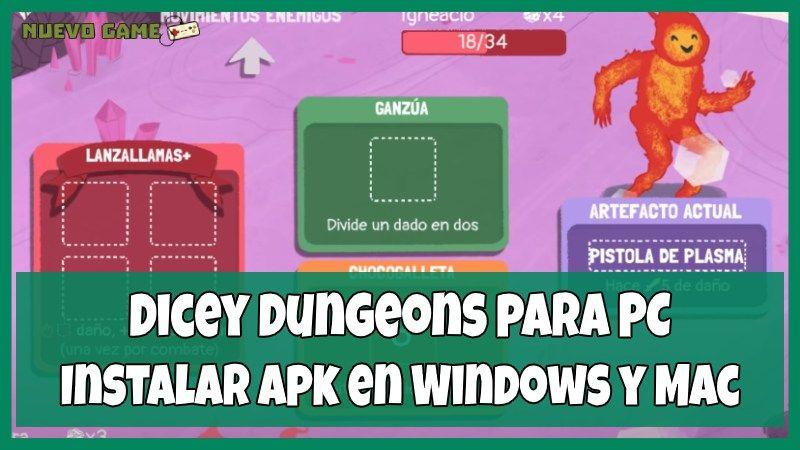 descargar Dicey Dungeons para PC