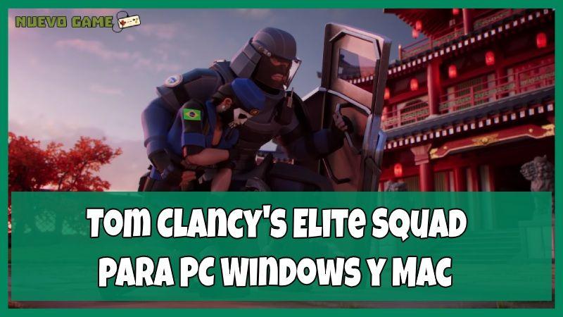 como descargar Tom Clancy Elite Squad para PC